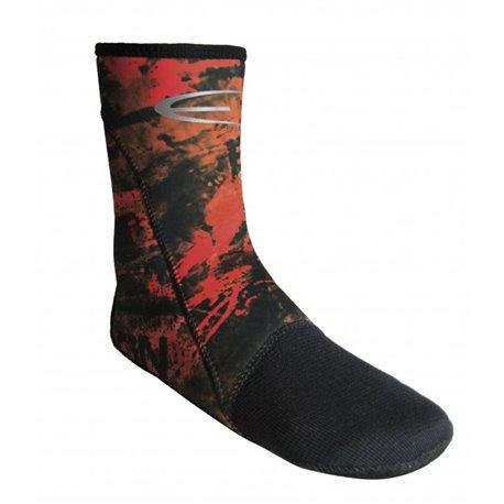 Epsealon Socks Red Fusion Power Tex Yamamoto 039 3mm