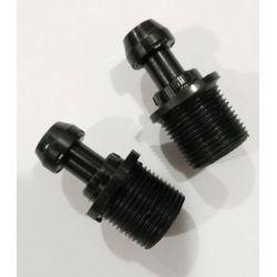 MVD полимерни преходници за ластик (чифт)