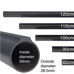 MVD Aluminum Speargun Tube with Shaft Guide