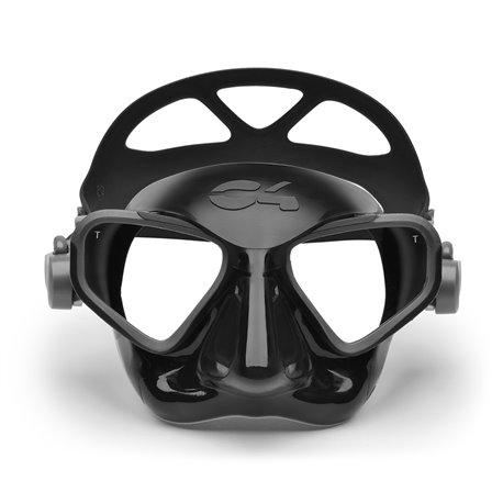 C4 mask Falcon Black