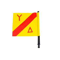 Xifias spare yellow buoy flag