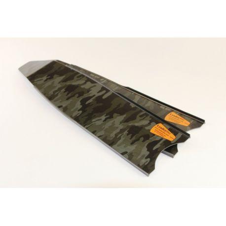 Leaderfins blades WAVES Carbon Alga