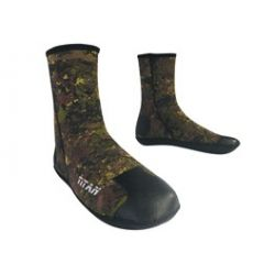 Esclapez Diving Socks  -  TITAN CAMO 5mm
