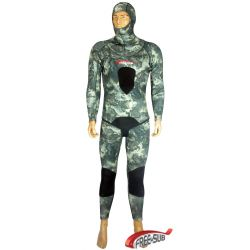 Freesub Hunter Seal Green 5mm Wetsuit