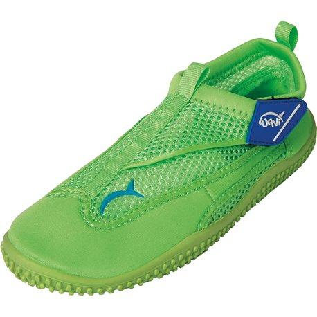Wavi RUSH GREEN Beach Shoes Junior