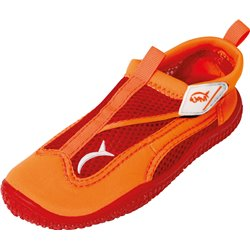 Wavi RUSH ORANGE Beach Shoes Child