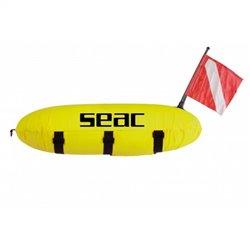 SEAC жълт торпедо буй с калъф
