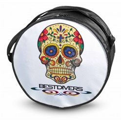 BestDivers regulator bag Skull