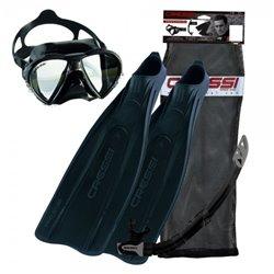 Cressi Pro Star Snorkeling Set