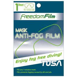 TUSA Freedom Anti-Fog Film for Single Lens Mask