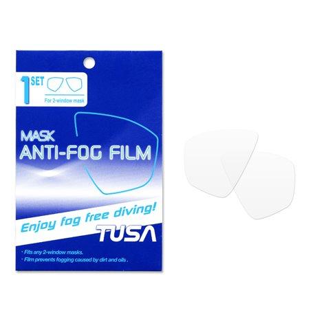 TUSA Freedom Anti-Fog Film for 2 Lens Mask