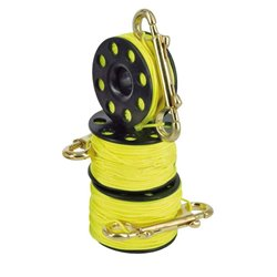 BestDivers finger reel 30m with steel carabiner